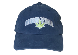 High Y'all Dad Hat-Blue