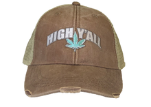 Load image into Gallery viewer, High Y'all Trucker Hat-Brown