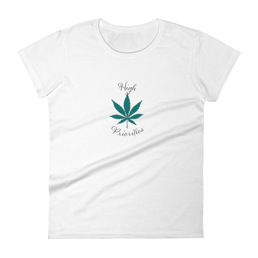 High Priorities Short Sleeve Tee-Shirt