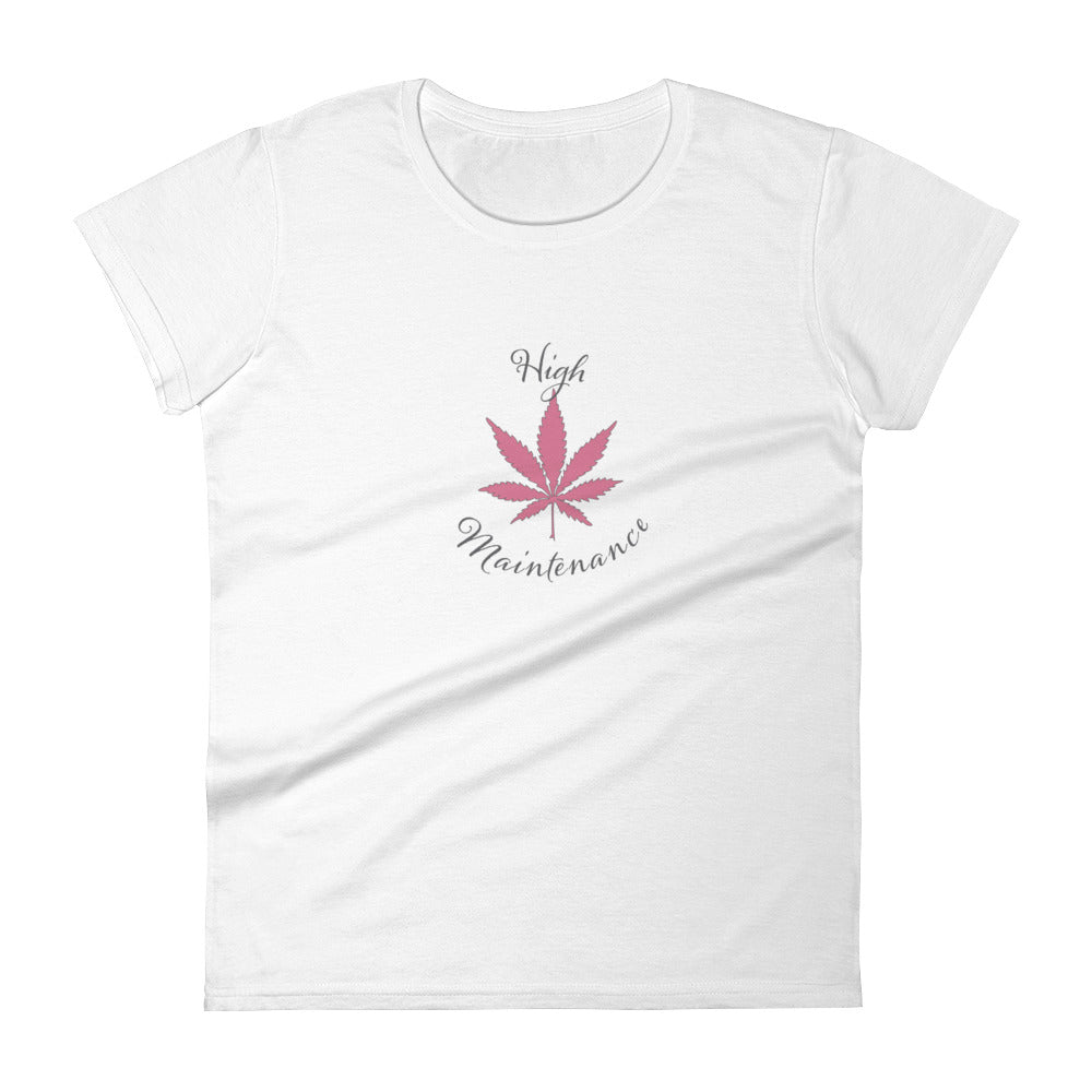 High Maintenance Short Sleeve Tee-Shirt