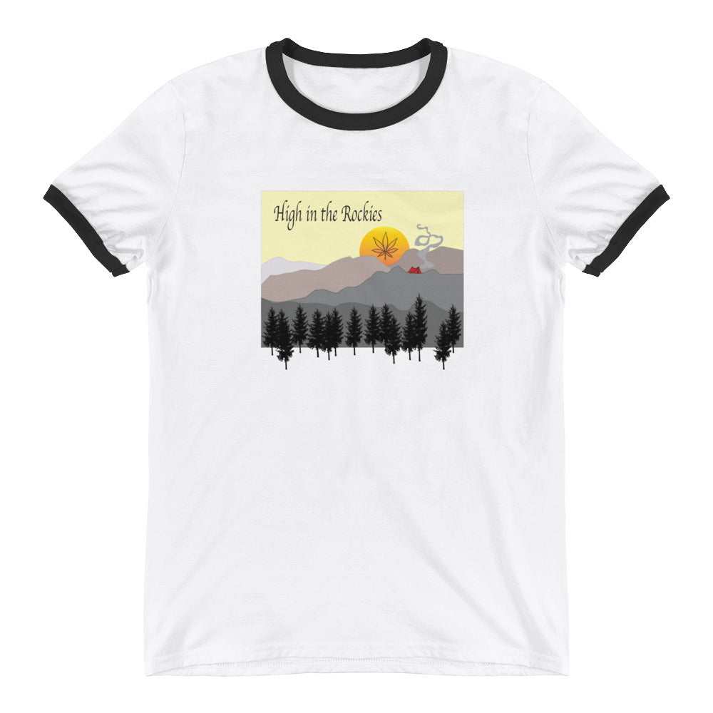 High in the Rockies Ringer T-Shirt