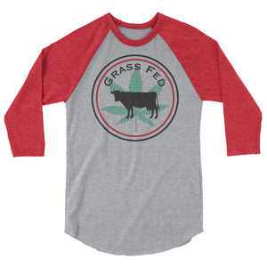 Grass Fed 3/4 sleeve raglan
