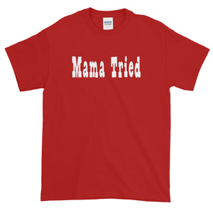 Mama Tried White Logo Short-Sleeve Tee