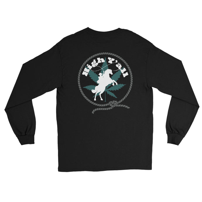 High Y'all Lasso, Back Logo Long Sleeve Tee