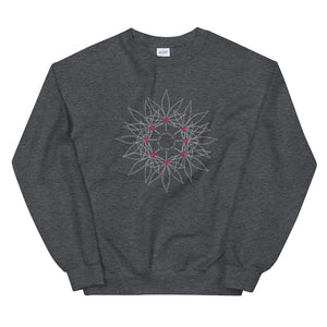 Fell the Joy! Grey Wreath Unisex Sweatshirt