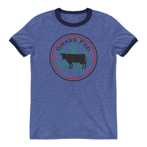 Grass Fed Ringer Tee