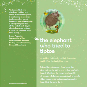 2-book bundle: The Elephant Who Tried to Tiptoe + The Boy Who Searched for Silence
