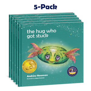 5-pack : THE HUG WHO GOT STUCK, Teaching Children To Access Their Heart And Get Free From Sticky Thoughts.