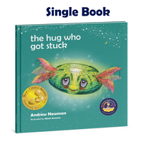 Load image into Gallery viewer, THE HUG WHO GOT STUCK, Teaching children to access their heart and get free from sticky thoughts.