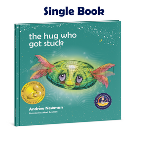 THE HUG WHO GOT STUCK, Teaching children to access their heart and get free from sticky thoughts.