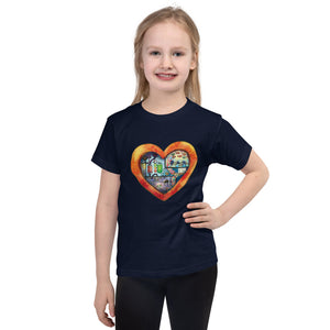Happy Hug Factory : Short sleeve kids t-shirt