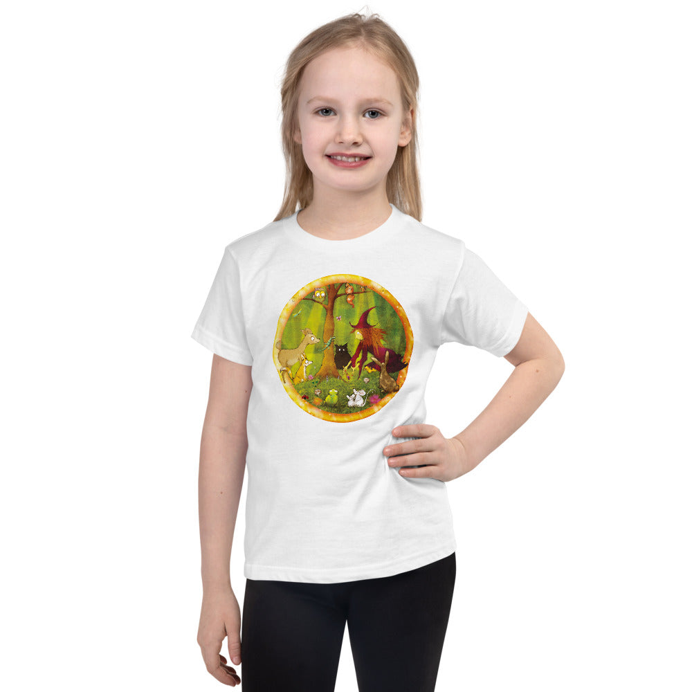 Nature Blessing: Short sleeve kids t-shirt
