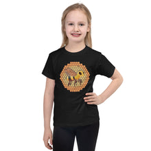 Load image into Gallery viewer, Bee Happy: Short sleeve kids t-shirt