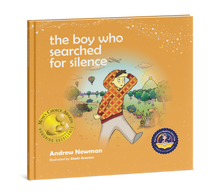 Load image into Gallery viewer, 2-book bundle: The Elephant Who Tried to Tiptoe + The Boy Who Searched for Silence