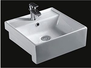 Semi-Recessed Wash Basin - 311D