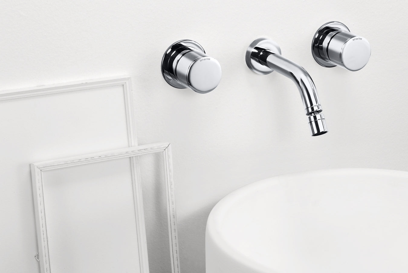 Bamboo 3868TR - Concealed Wall-Mounted Basin Mixer