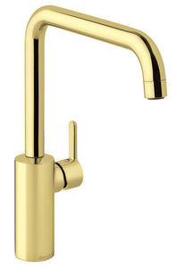 "DAMIXA - ""SILHOUET"" Polished Gold Sink Mixer"