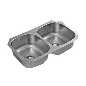 ELKAY - CS-110 Double-Bowl Stainless Steel Sink