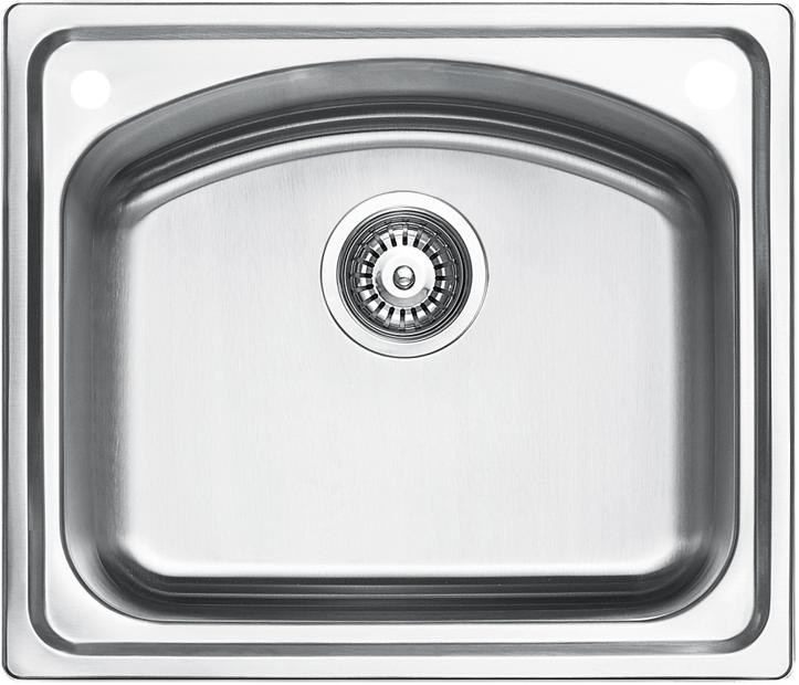 ELKAY - EC-41411 Single-Bowl Stainless Steel Sink - NEW MODEL!