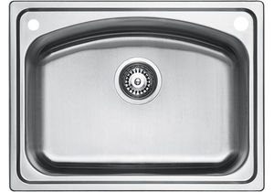 ELKAY - EC-41412 Single-Bowl Stainless Steel Sink - NEW MODEL!