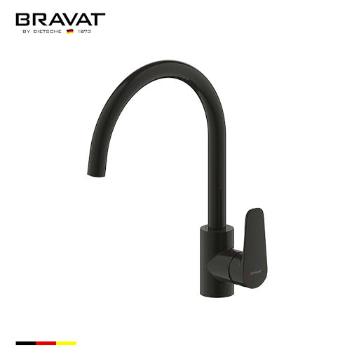 """Source"" Kitchen Sink Mixer (Matt Black)"