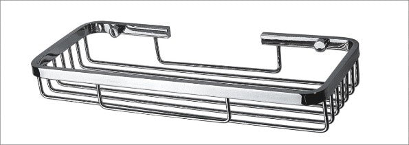 Toiletries Basket / Holder - Chrome
