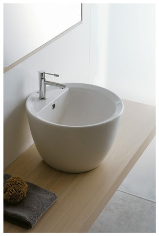 MATTY TONDO R - Counter-Top Wash Basin