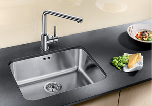 BLANCO - SUPRA 500-U Single-Bowl Stainless Steel Sink