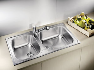 BLANCO - TIPO XL9 Double-Bowl Stainless Steel Sink