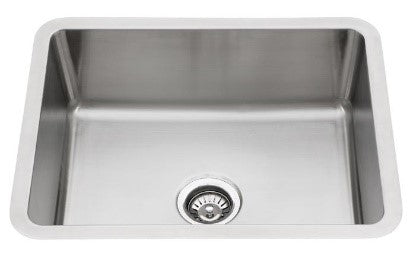 """NC Series"" - u-680-NC Single-Bowl Stainless Steel Sink"