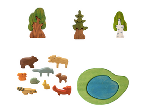Waldorf Adventure Bundle wooden toys