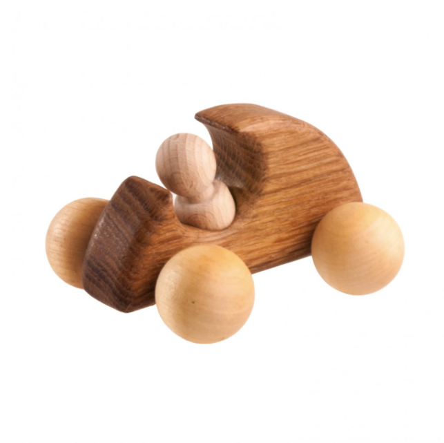 Wooden Car Roller Toy