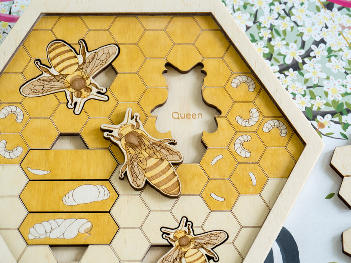Multi-Layer Beehive Puzzle