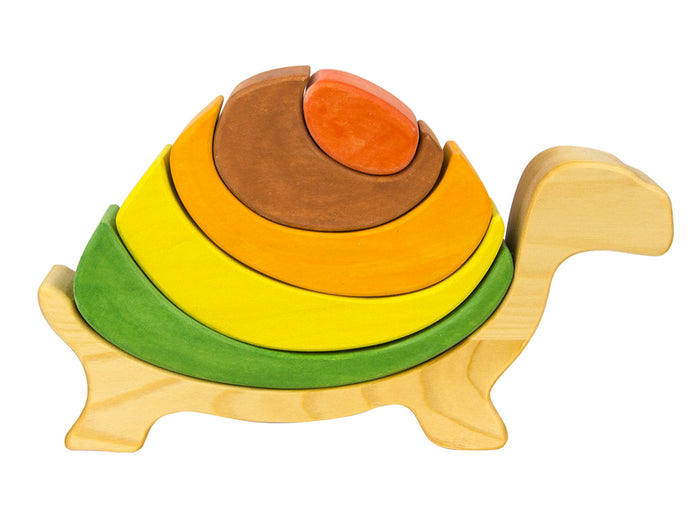 Wooden Turtle Stacker Puzzle