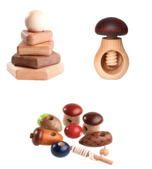 Explorer Bundle wooden toys set - PoppyBabyCo