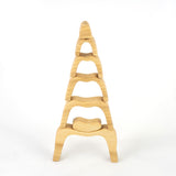 Natural Caves Wooden Stacking Toy