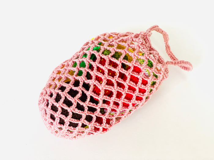 Crochet Fruits set with a bag