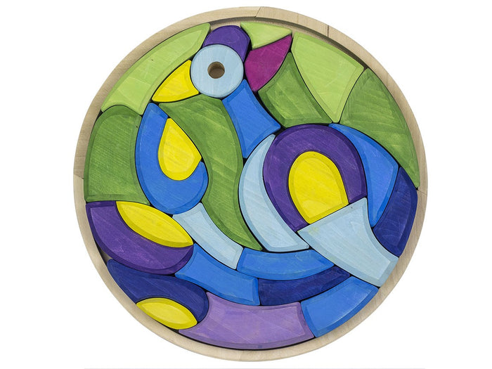 Wooden Puzzle Peacock 30 pcs