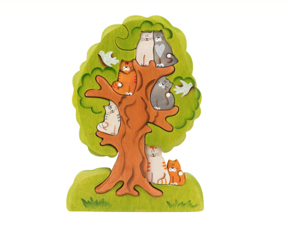 Cats on the Tree Puzzle