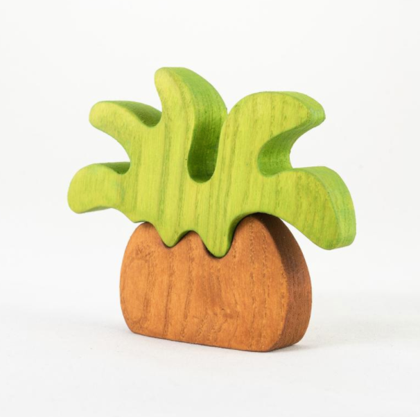 Handmade Wooden Palm Tree for Play