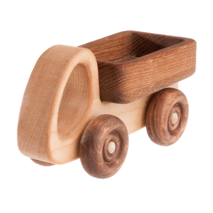 Wooden Truck Car with moving wheels - PoppyBabyCo