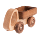 Wooden Truck Car with moving wheels - poppybaby