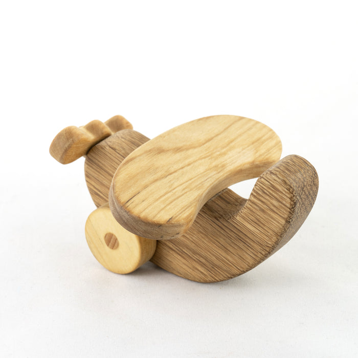 Wooden Airplane plane  Push Along Toy