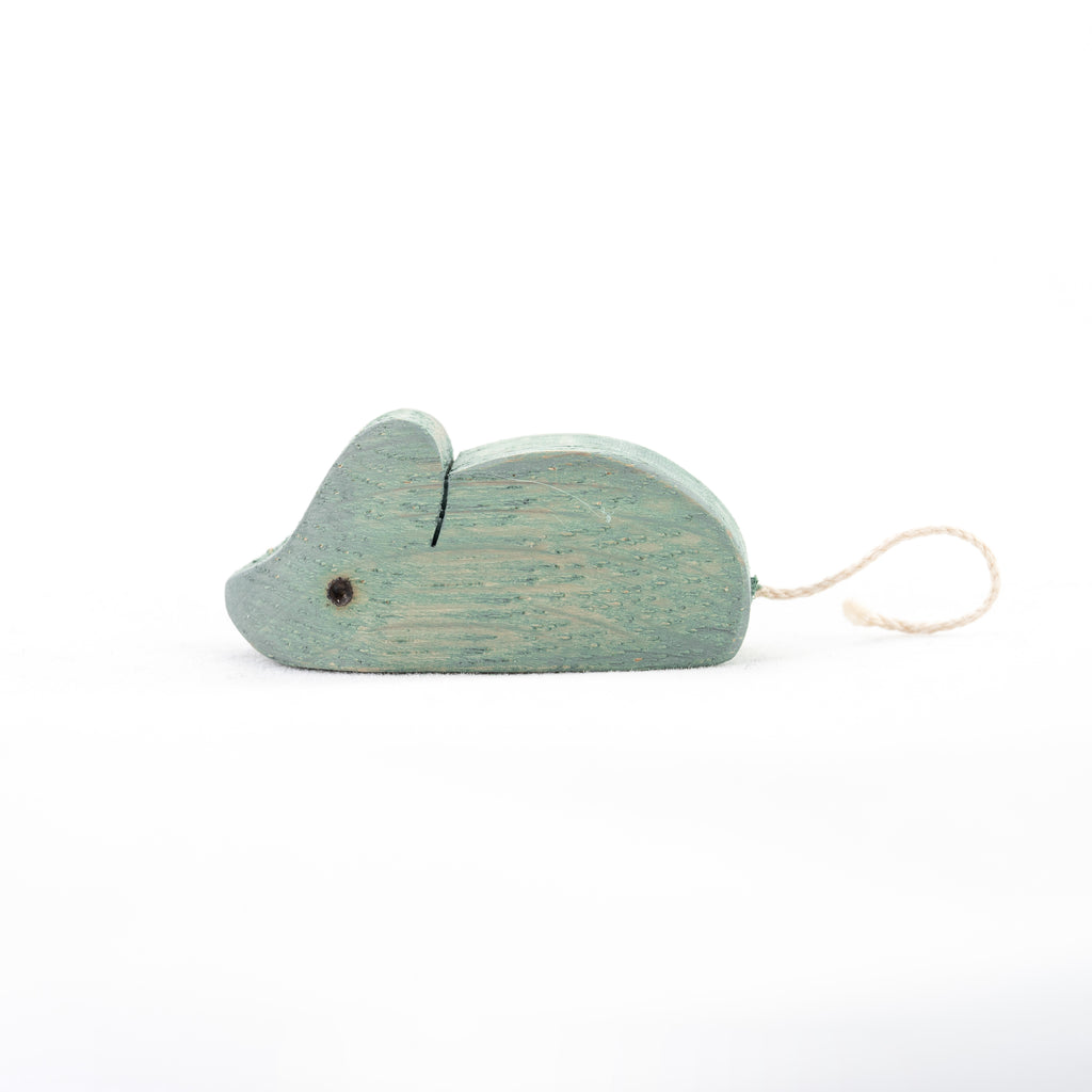 Waldorf Wooden Mouse - poppybaby