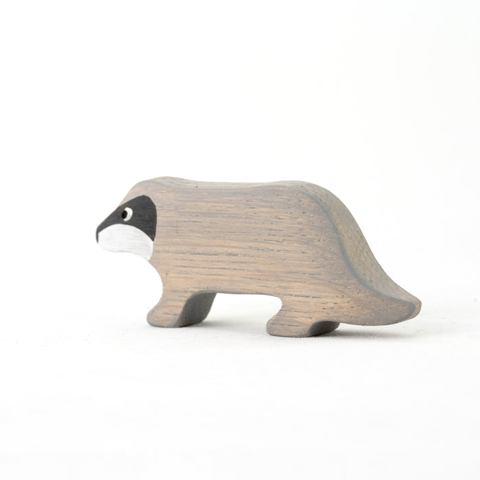 Waldorf Wooden badger raccoon