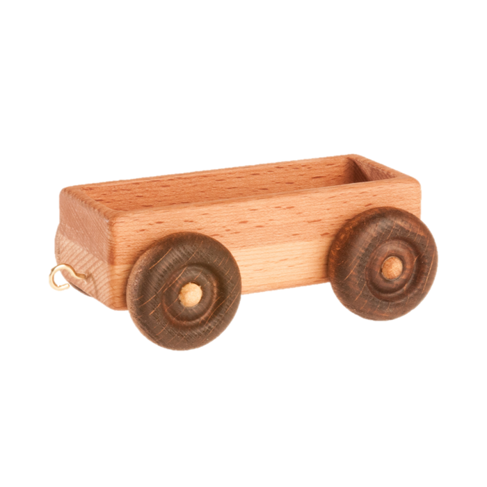 Handmade Wooden Toy Train Play Set, 23