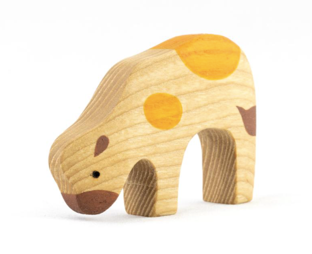 Wooden Baby Cow toy