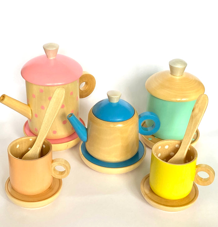 Wood Tea Set Toy