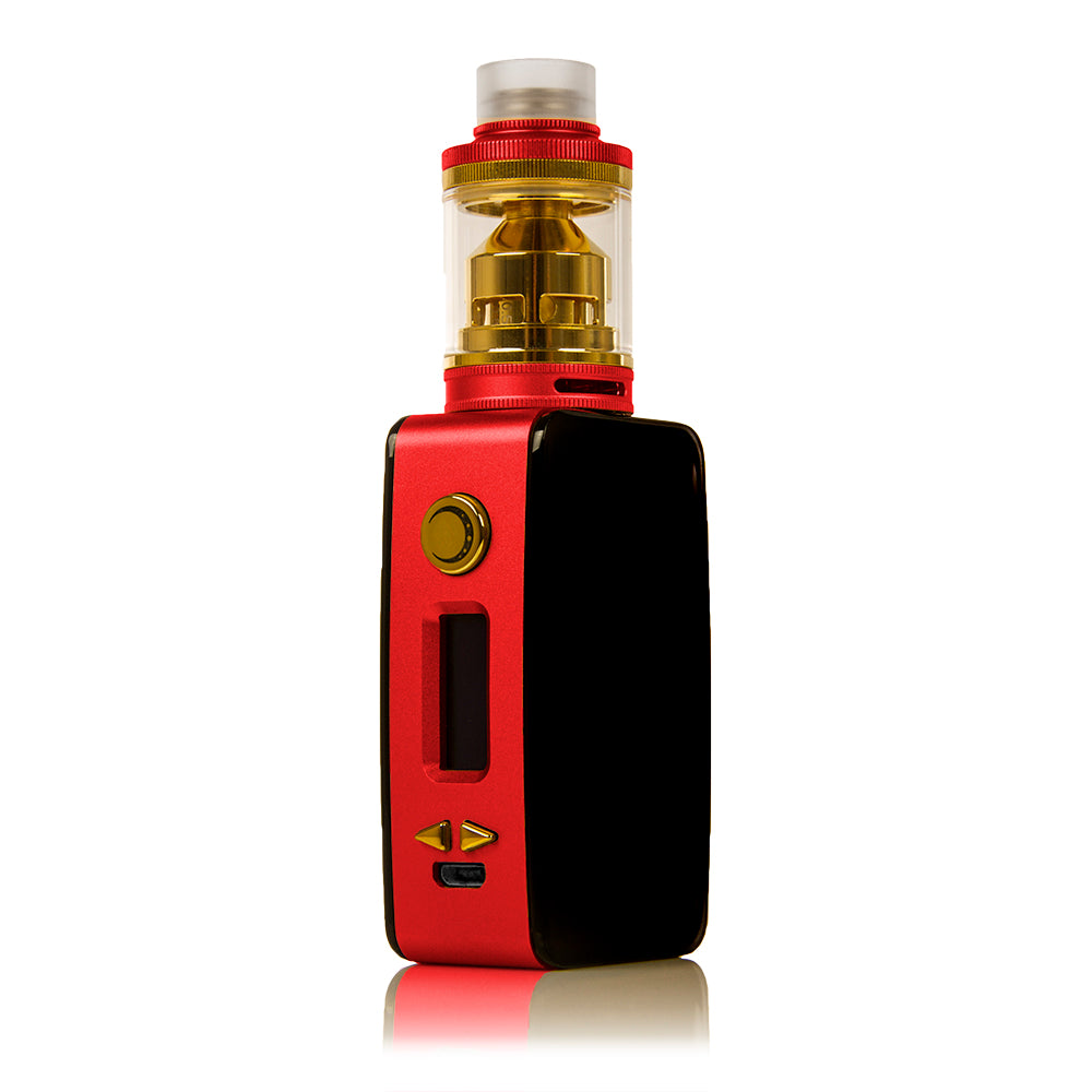 Littlefoot 60W TC Starter Kit - Black Panel/Red