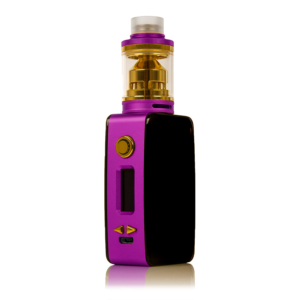 Limited Edition - Littlefoot 60W TC Starter Kit - Black PanelPurple